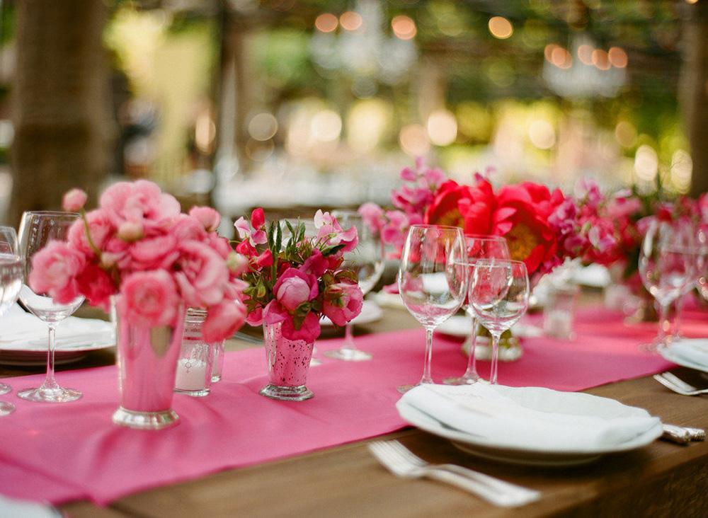 Фото украшения стола на годовщину свадьбы